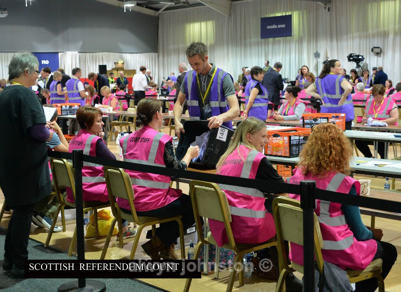 SCOTTISH REFERENDUM 03 - Events