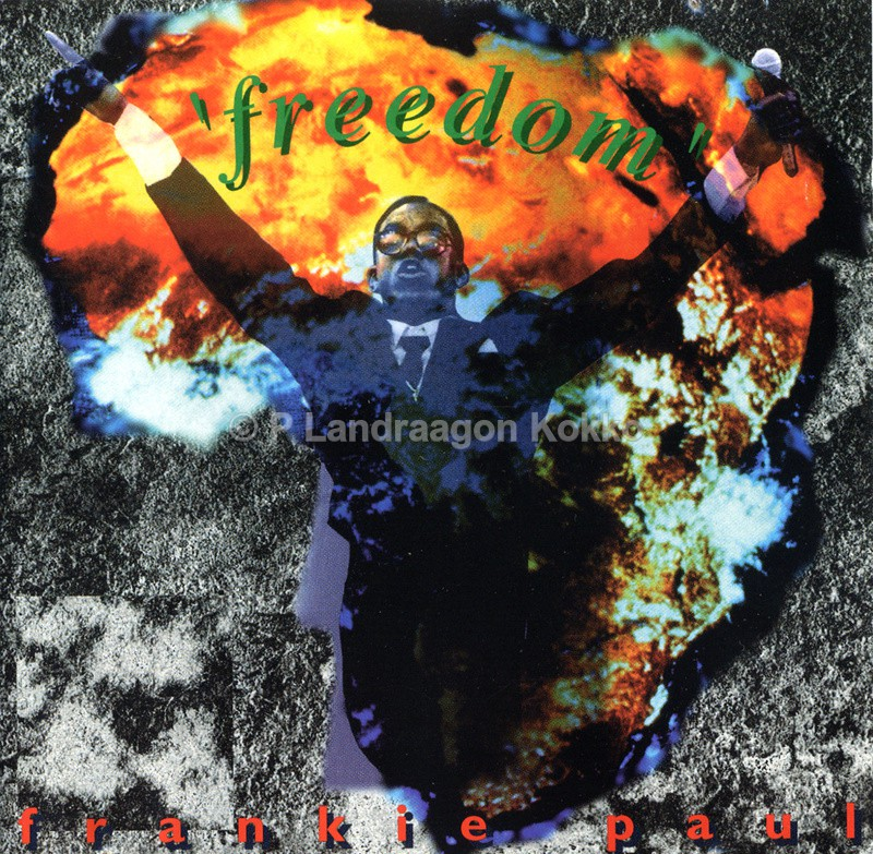 Album Frankie Paul - Design CD Album covers
