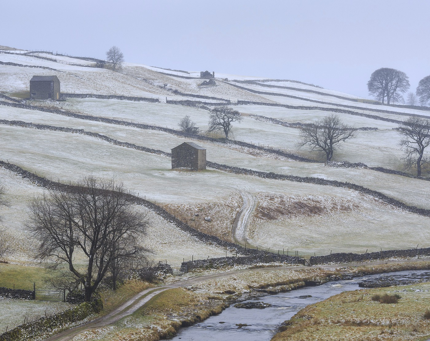 Winter Pastels - England & Wales