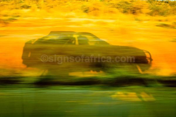 Driving, Laikipia, Kenya