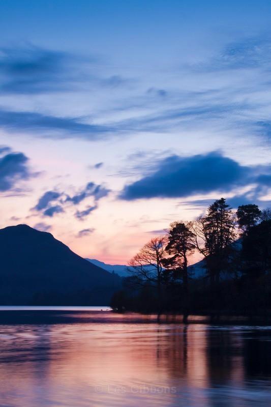 Derwentwater sunset - Lake District