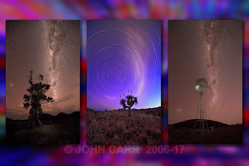 MilkyWay Triptych-2 - MONTAGES
