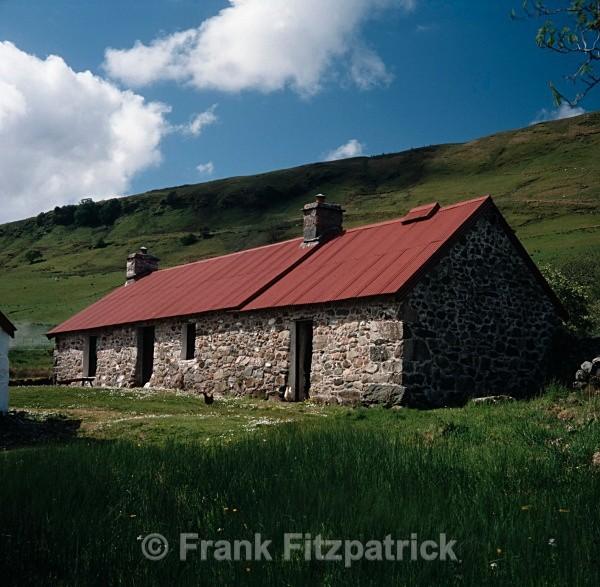 McCallums house, Auchindrain crofting museum - Highland