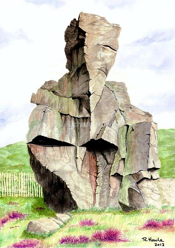 The Old Man of Mow - Watercolour Paintings