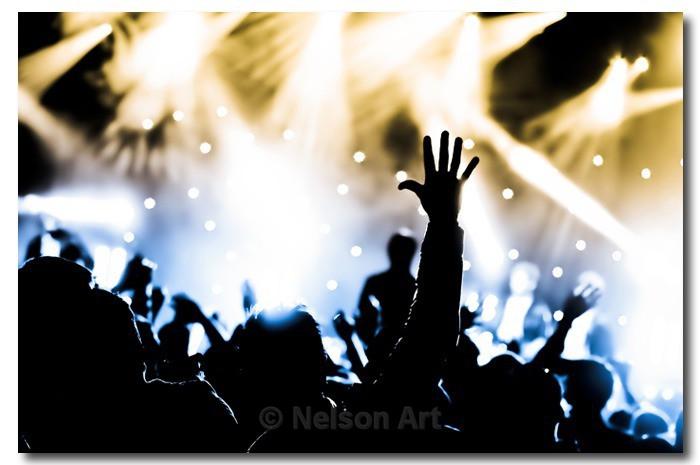 Concert Crowd - Live Music