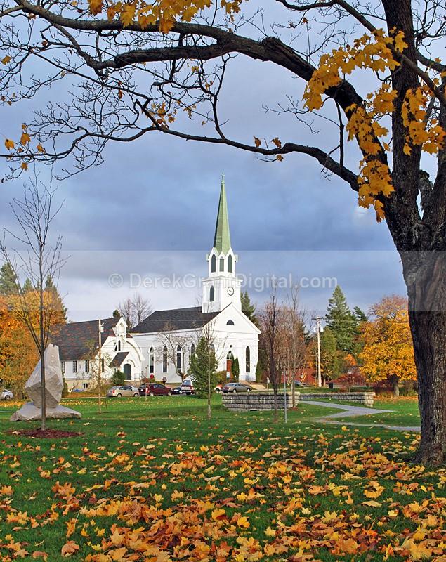St. Paul's Anglican Church ~ Rothesay, New Brunswick - New Brunswick Autumn Foliage