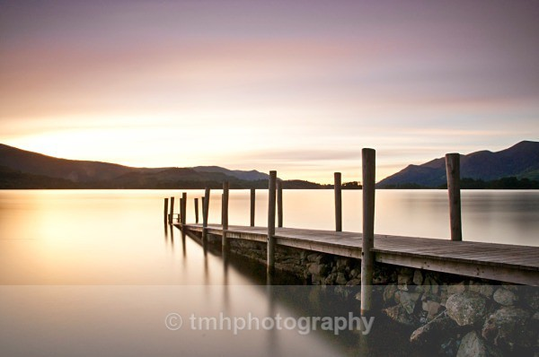 Colours from the Jetty. - Lakedistrict