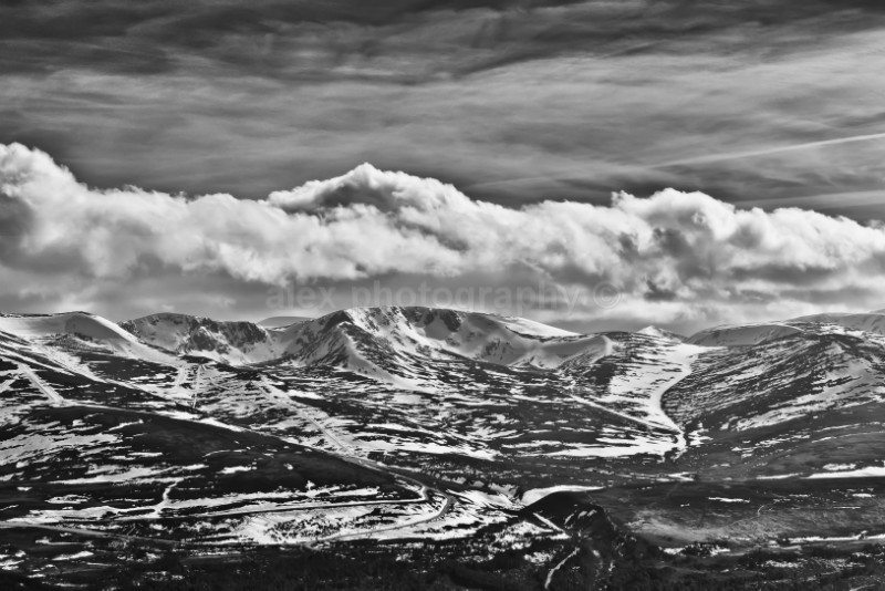 The Cairngorm mountain range - Landscape & Seascape