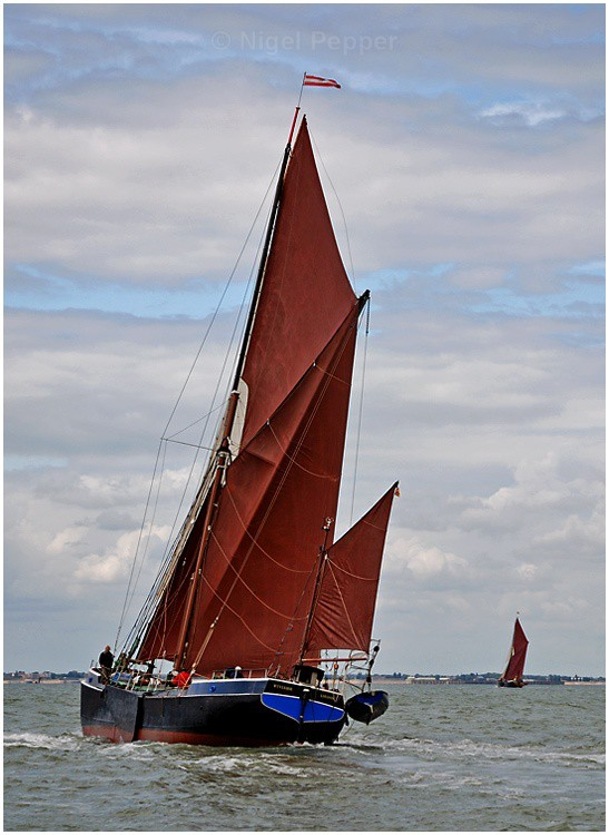 SB 'Wyvenhoe' (1) - The Thames Barge Match