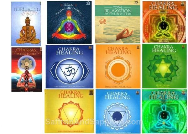 Chakra Music CDs