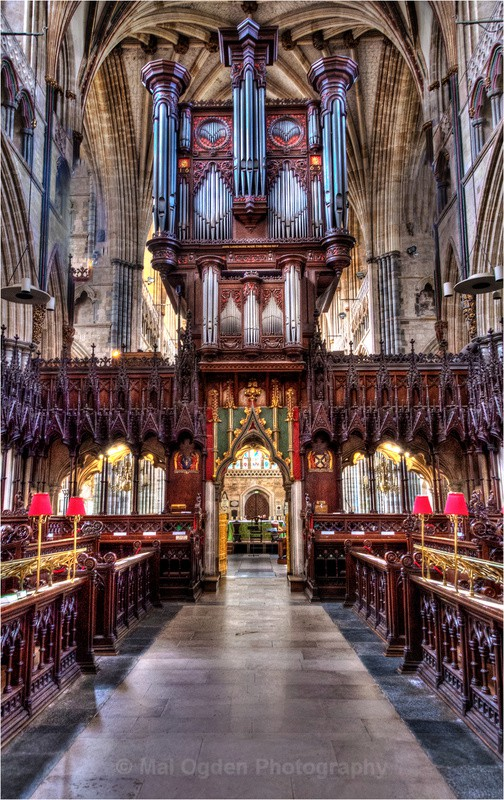 Exeter Cathedral - Interiors (HDR)