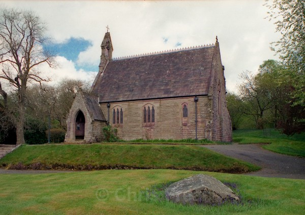 Maxwelton Chapel - Around Moniaive