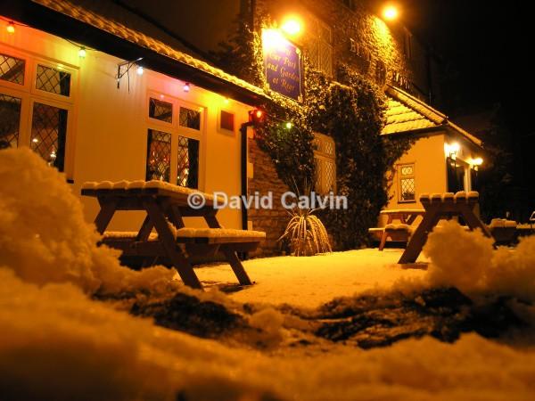 Pub In The Winter - Winter