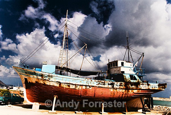 The Boat at Latchi - Cyprus 2008
