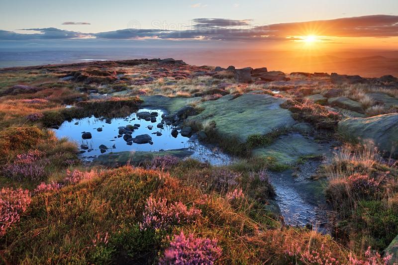 Peak District Sunrise | West Nab | West Yorkshire Landscape