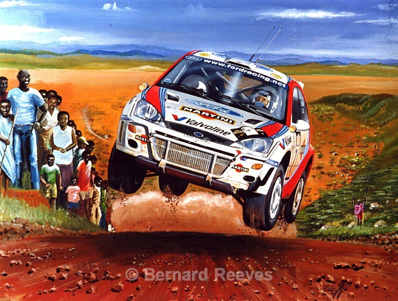Colin McRae - Rally Kenya - Rally cars & drivers
