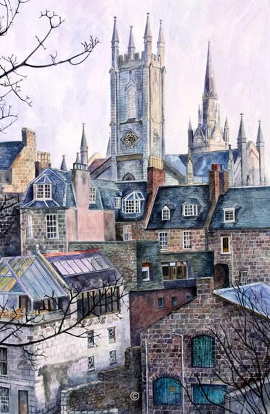 Aberdeen Morning. - Jane Pettigrew D.A.