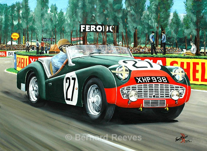 TR3S Peter Jopp Dickie Stoop Le Mans 1959 - Classic cars