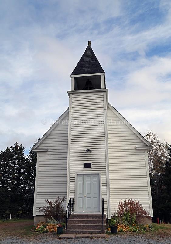 St. Barnabas Church, Barnesville, New Brunswick  - 1 - Churches of New Brunswick