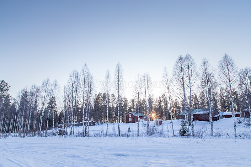 Late afternoon sunset in Swedish Lapland - Dawn to Dusk Gallery