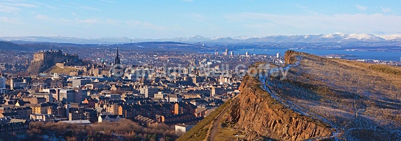 City Of Edinburgh - Panoramic format