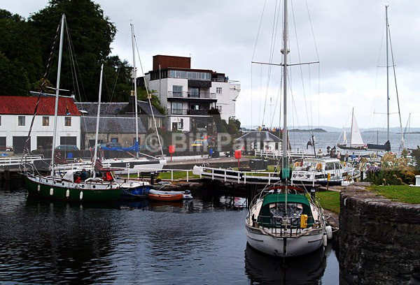 Crinan Harbour - Land and Sea