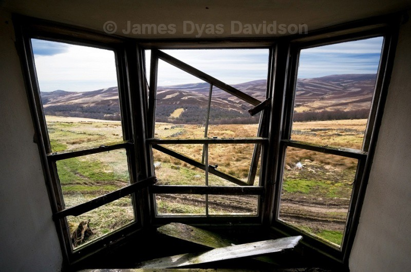 Looking out from Ardoch - Glen Gairn