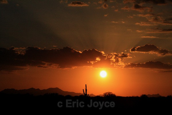 June Sunset - Tuscon, Arizona