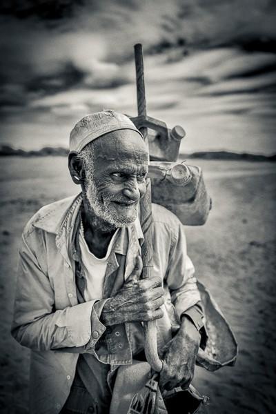 Old Man, Baraka District, Ethiopia