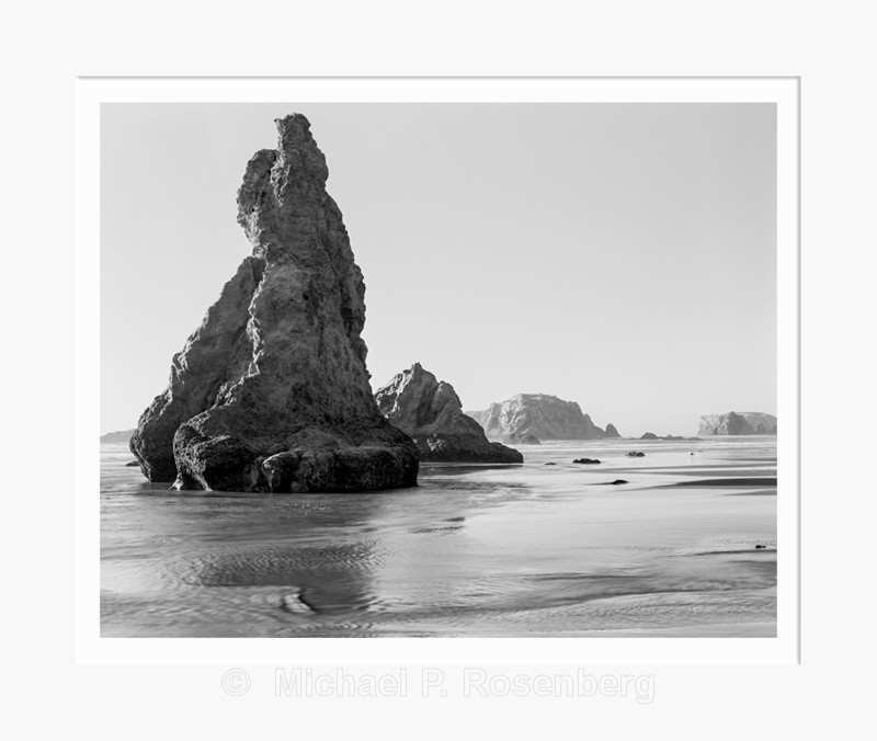 Early Light at Spiral Rock, Bandon Beach OR (5740) - Pacific Coast