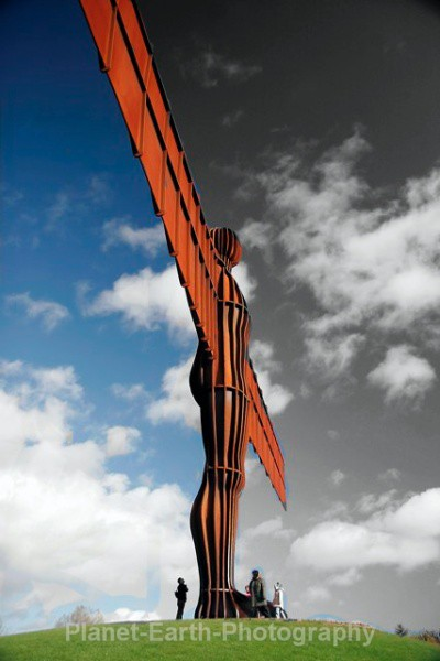 Angel Of The North 7 - Abstract / Creative