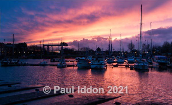 Preston Marina Sunset - Landscapes