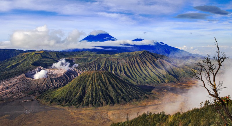Bromo from Above - Volcano Dawn (Bali and Beyond)