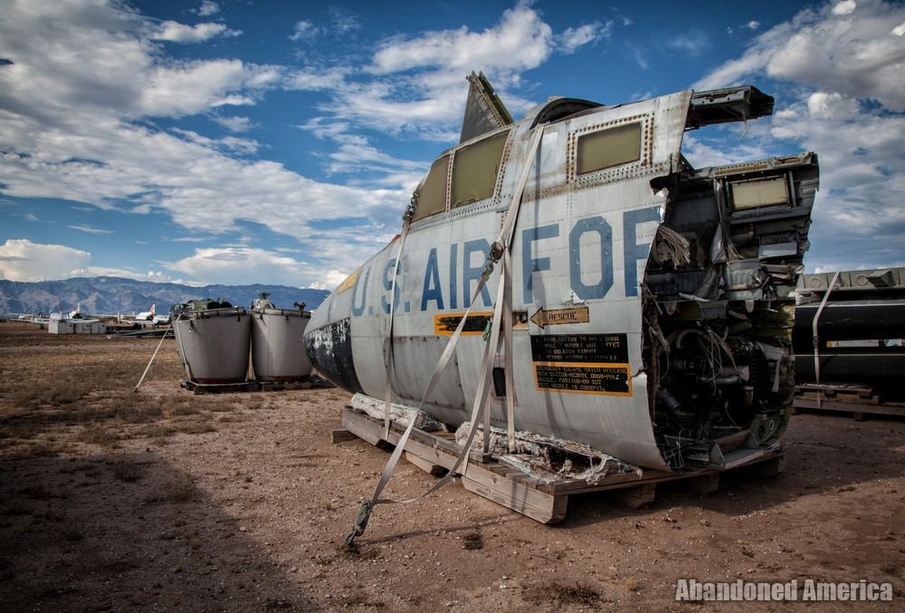 Aerospace Reclamation and Maintenance Group, Tucson AZ - Matthew Christopher Murray's Abandoned America