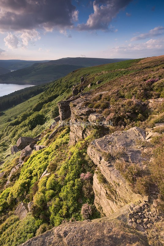 Bamford Edge and Ladybower Reservoir - Derbyshire - Peak District Landscape Photography Gallery