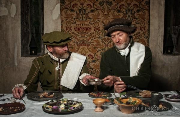 Border Reiver Meal 01 - Living History