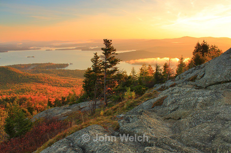 Morning Glow on Major - Lakes Region & Southern New Hampshire