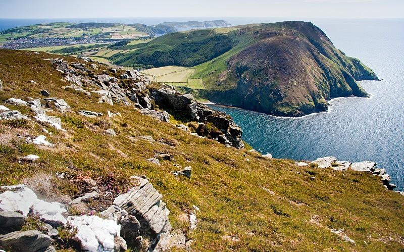 View across Fleswick Bay - Land of Man