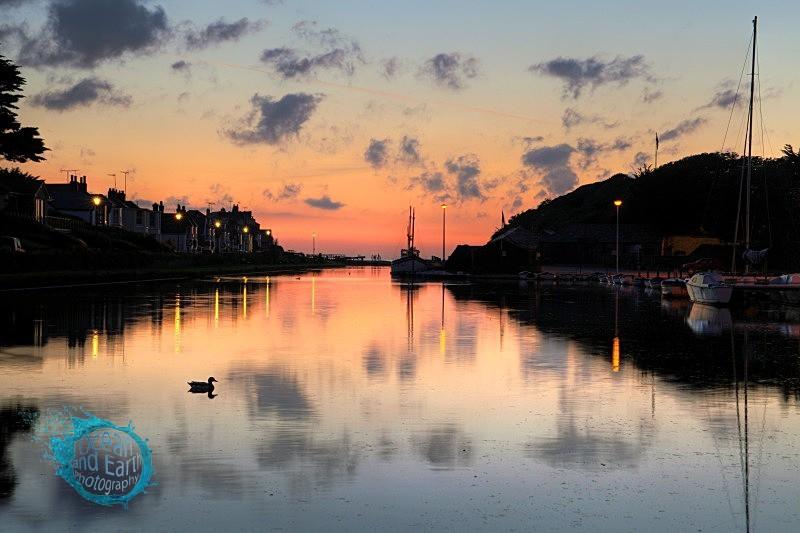 Canal Sunset - Landscapes