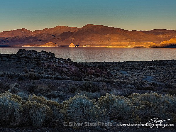 Pyramid Lake Sunset - Nevada (mostly) Landscapes