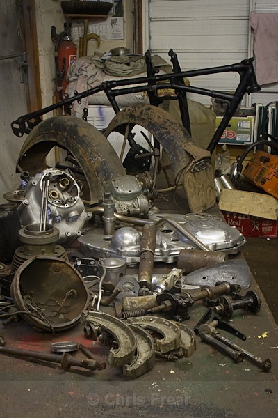 1 - Rudge Motorcycle Restoration