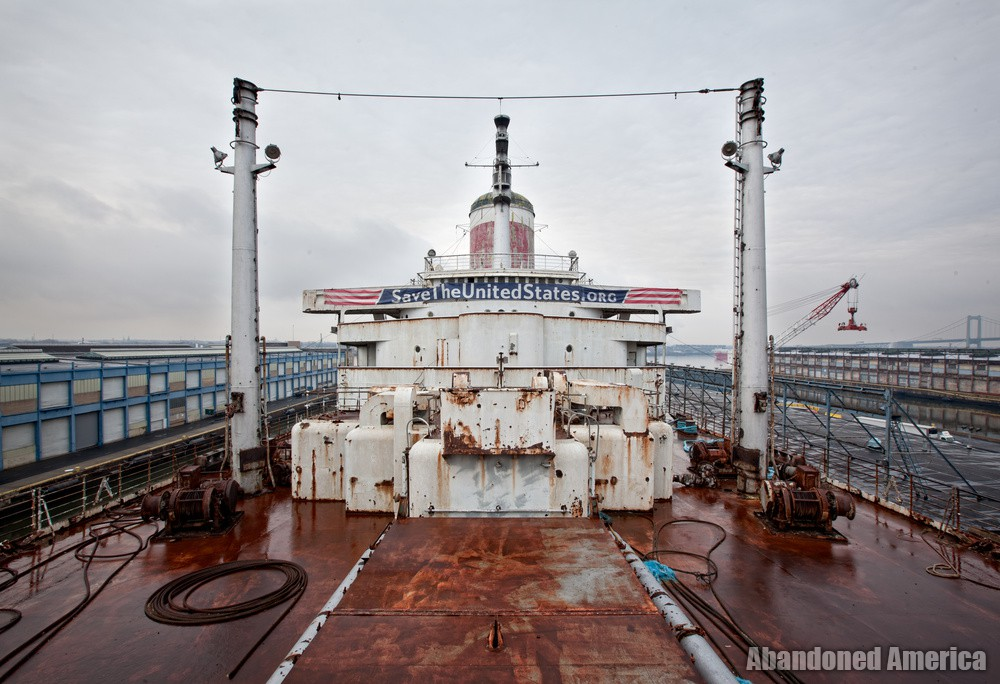 Looking Aft | SS United States (Philadelphia, PA) - SS United States