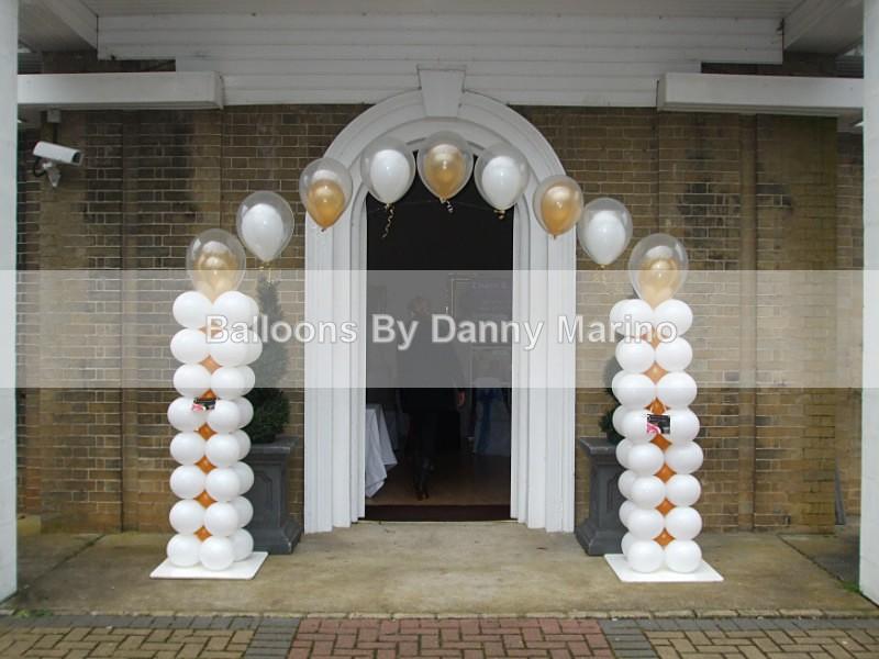 the 'I do' Arch - Wedding Balloon Photos