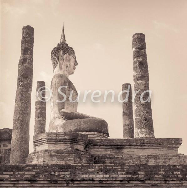 Wat Mahathat # 5 - Sukhothai  スクタイ