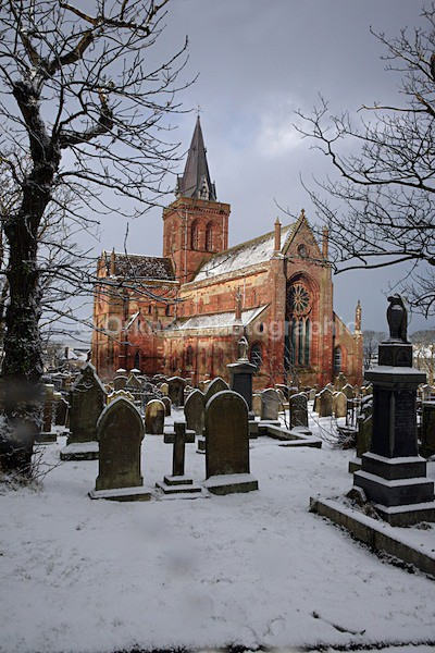 Cathedral snow 1 - Orkney Images