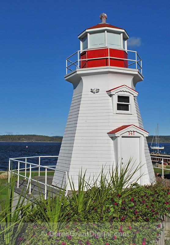 Renforth Lighthouse, Rothesay, New Brunswick - Lighthouses of New Brunswick
