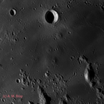 Hortensius Domes - Moon: West Region