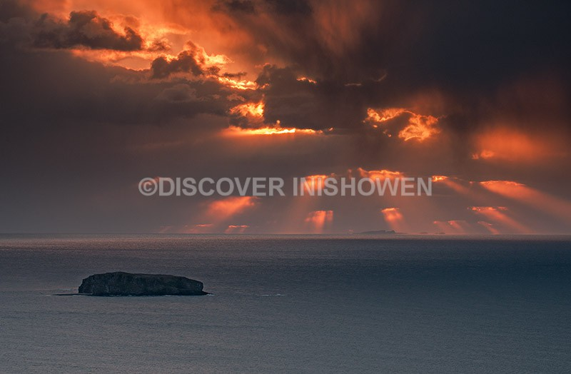 Drama above Tory Island - Nature