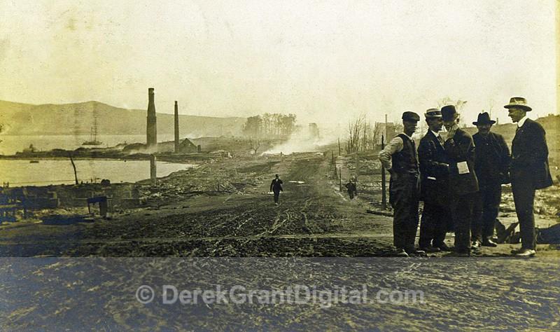 Morning After Great Campbellton Fire New Brunswick Canada 07/11/1910 - Historic New Brunswick