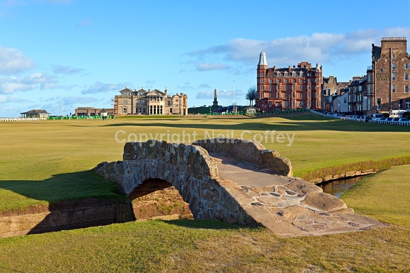 The Old Course 18th Hole, St Andrews, Fife - Cities & Towns